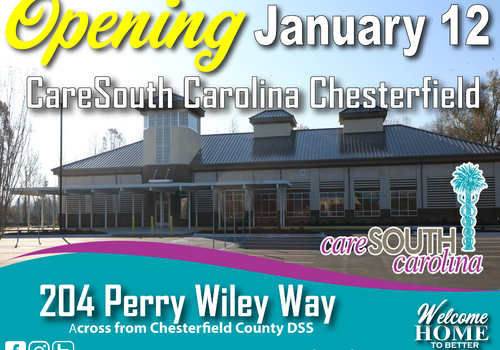 CareSouth Carolina Chesterfield Building Opening January 12