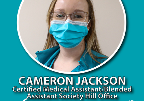 Cameron Jackson named CareSouth Carolina 2020 Employee of the Year