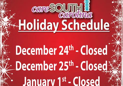CareSouth Carolina Holiday Closings
