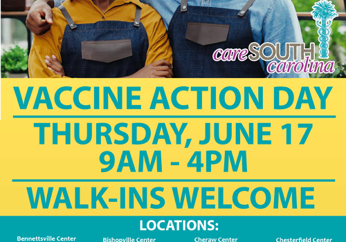 CareSouth Carolina partnering with SC-DHEC for 'Vaccine Action Day'
