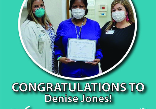 MAY 2020 EMPLOYEE OF THE MONTH – DENISE JONES
