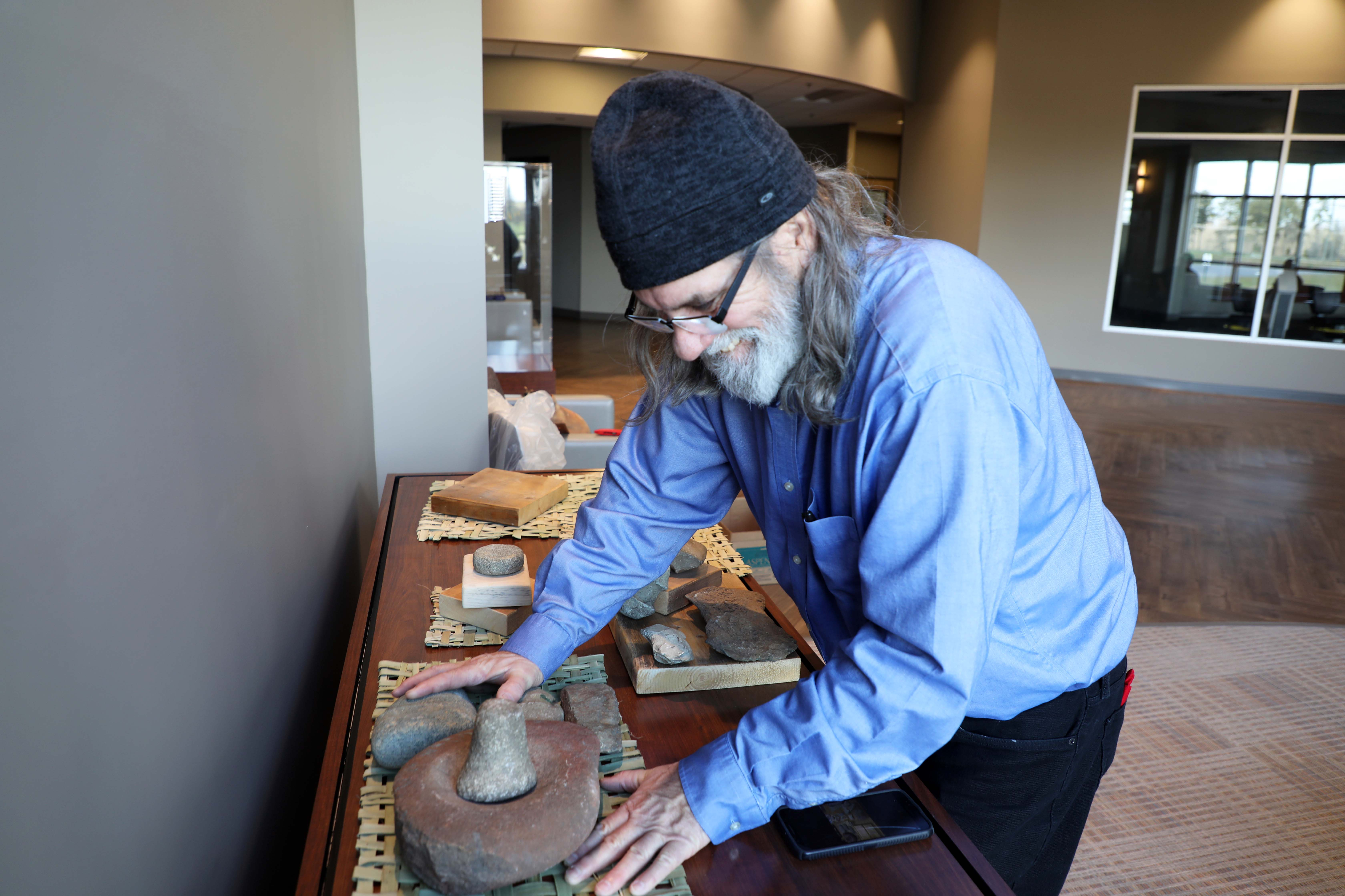 Historical Artifacts showcased in McColl Health & Wellness Center