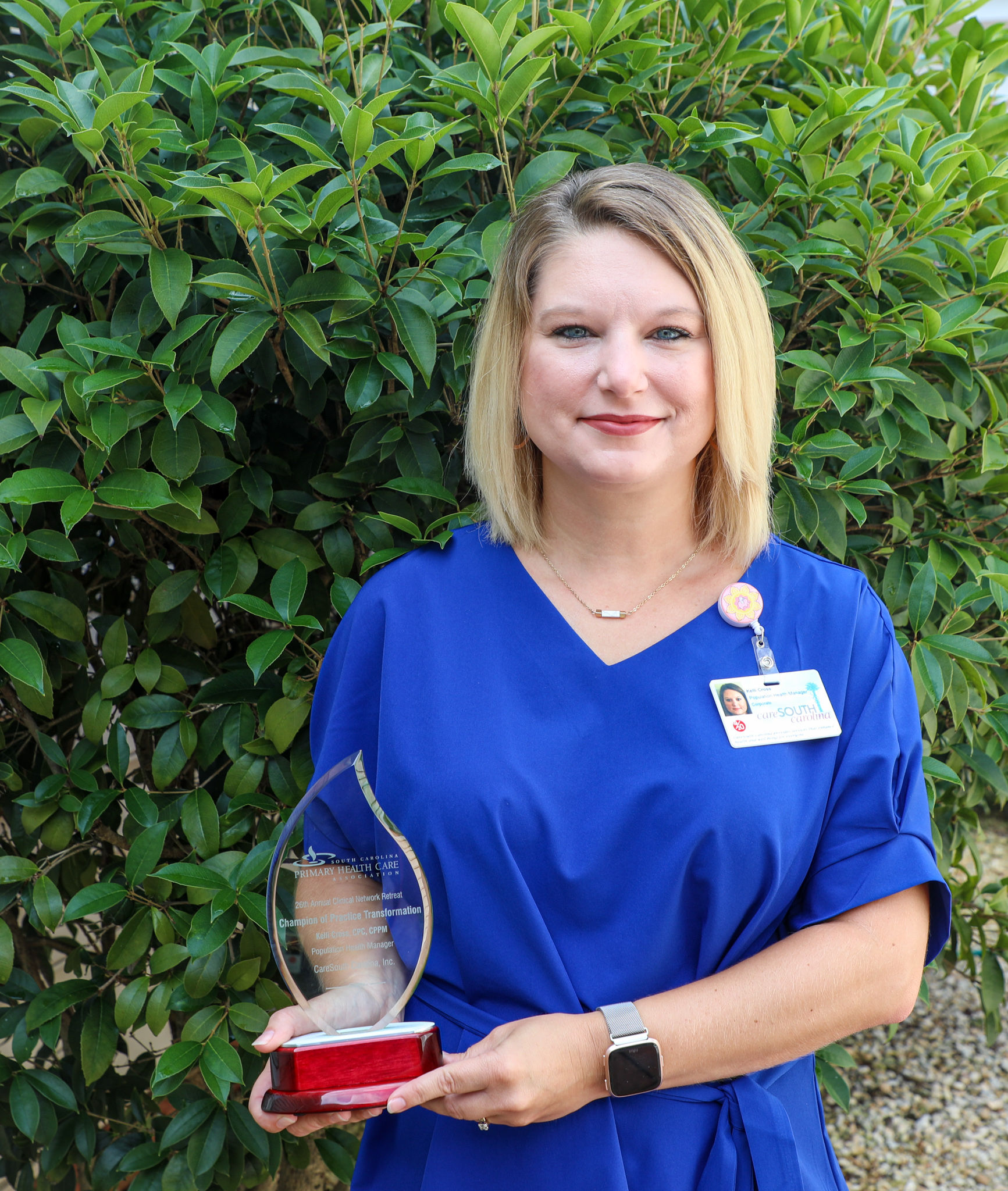 CareSouth Carolina's Kelli Cross named SCPHCA 'Champion of Practice Transformation'