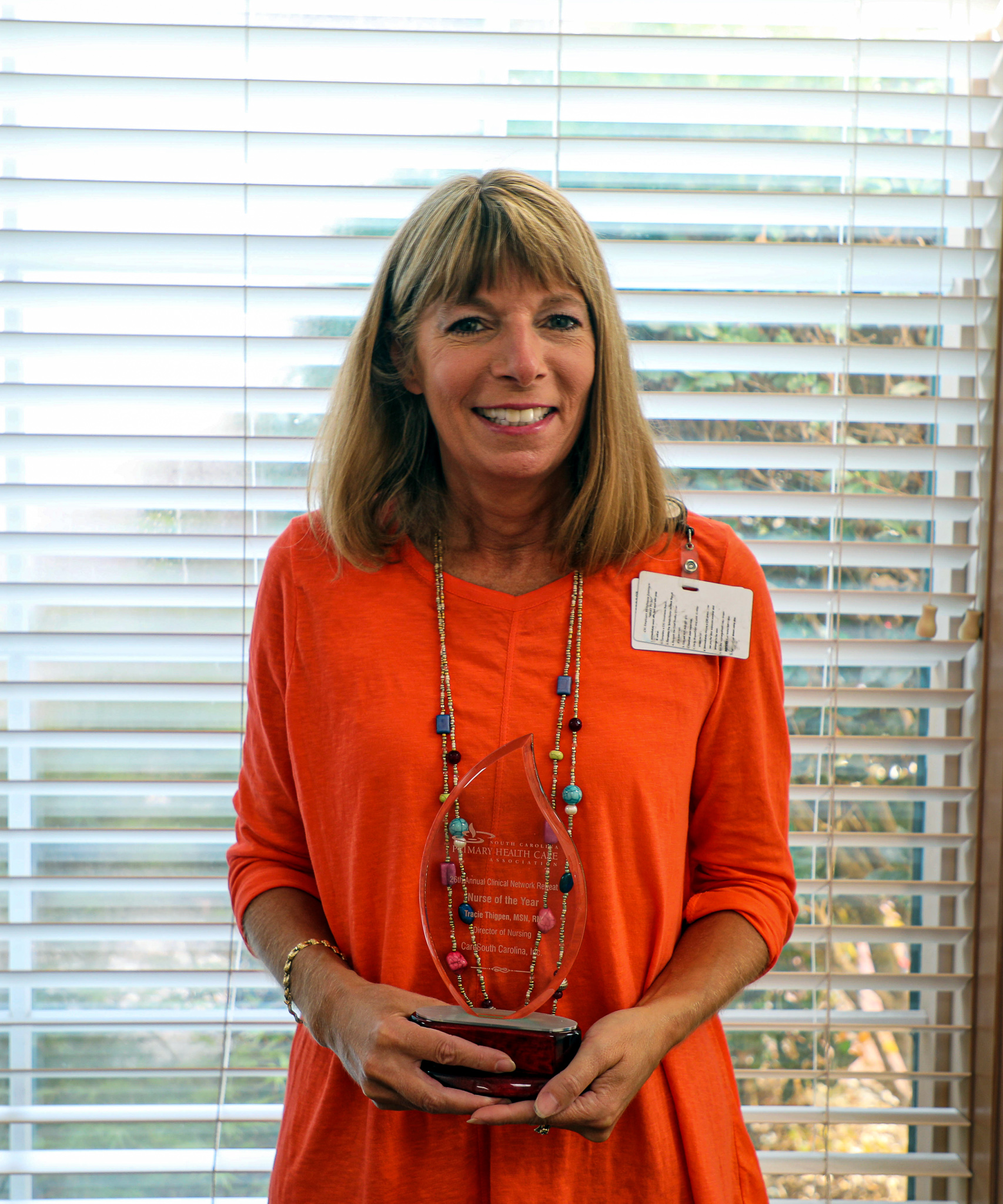 CareSouth Carolina's Tracie Thigpen named SCPHCA Nurse of the Year